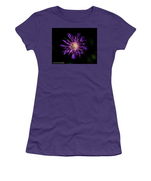 Flower Or Firework Women's T-Shirt (Athletic Fit)