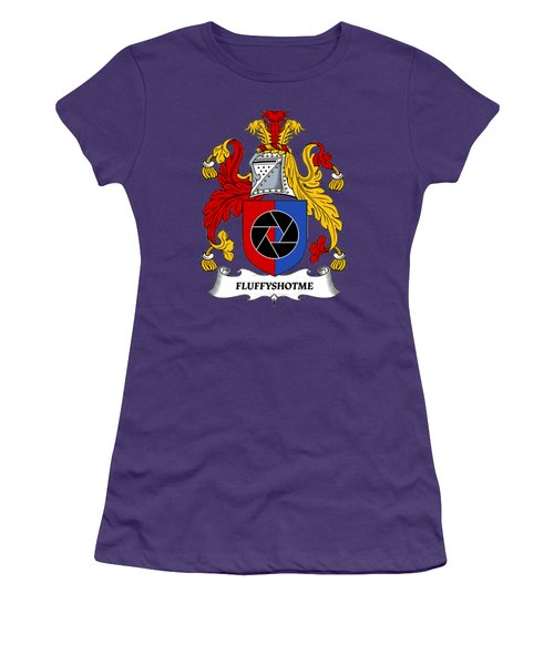 Fluffyshotme Logo Women's T-Shirt (Athletic Fit)