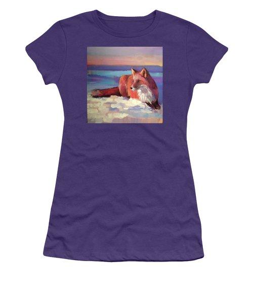Fox II Women's T-Shirt (Athletic Fit)
