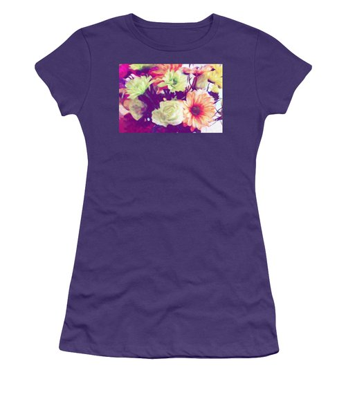 Fresh Flowers Women's T-Shirt (Athletic Fit)
