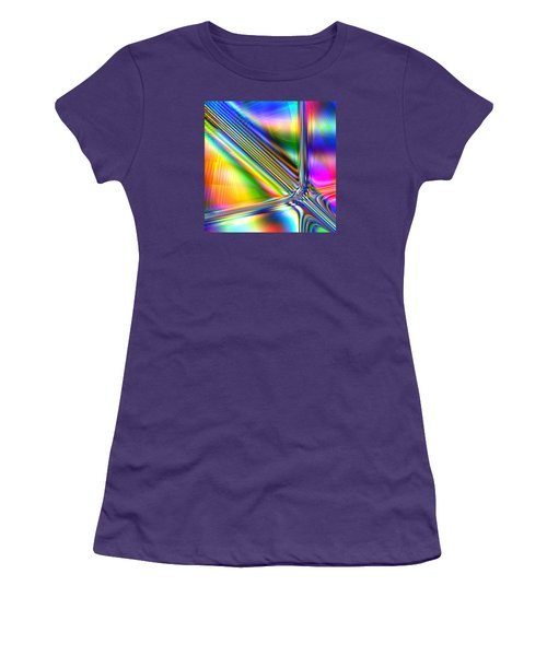Women's T-Shirt (Junior Cut) featuring the digital art Freshly Squeezed by Andreas Thust