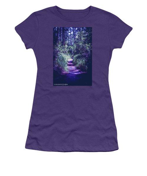 Get That Rabbit Women's T-Shirt (Junior Cut) by Stefanie Silva