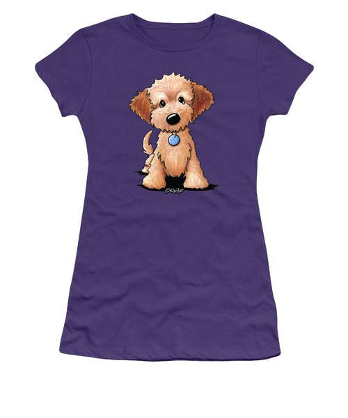 Goldendoodle Puppy Women's T-Shirt (Athletic Fit)