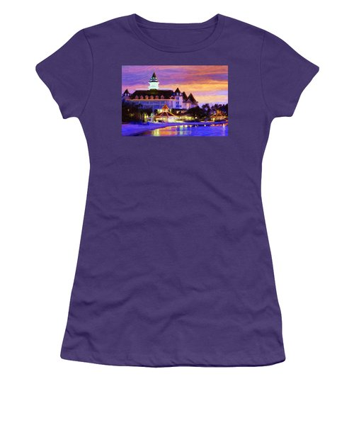 Grand Floridian Women's T-Shirt (Athletic Fit)
