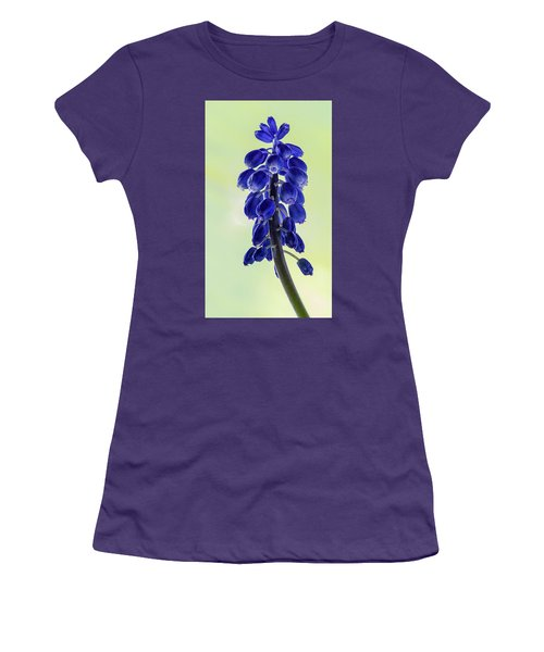 Grape Hyacinth Women's T-Shirt (Athletic Fit)