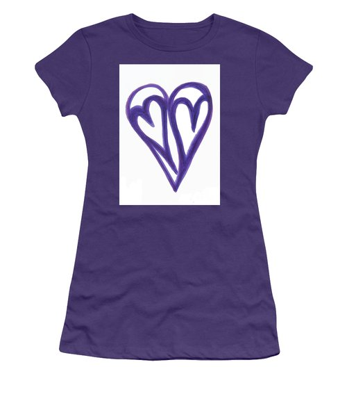Grateful Heart Thoughtful Heart Women's T-Shirt (Athletic Fit)