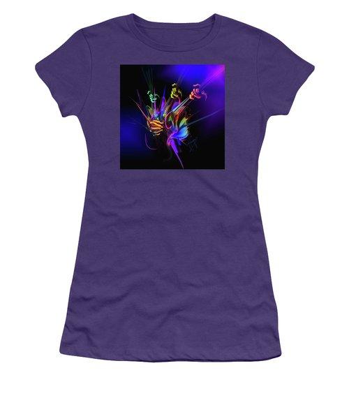 Guitar 3000 Women's T-Shirt (Junior Cut) by DC Langer