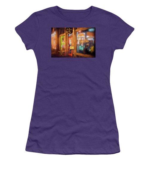 Hampden Cafe Women's T-Shirt (Athletic Fit)