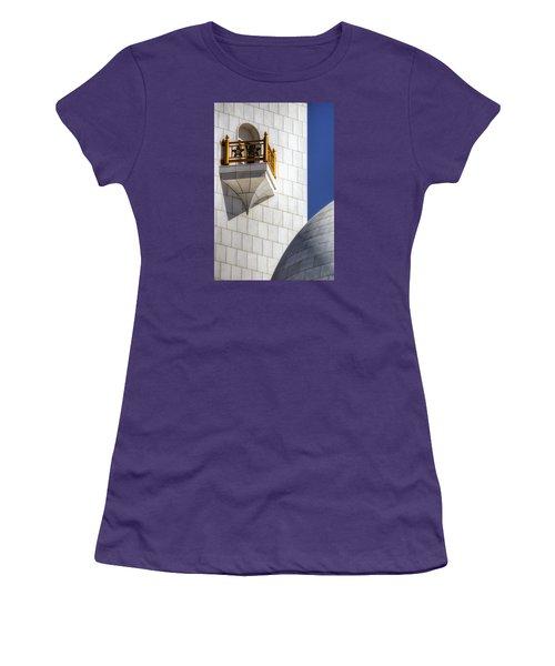 Hindu Temple Tower Women's T-Shirt (Junior Cut) by John Swartz