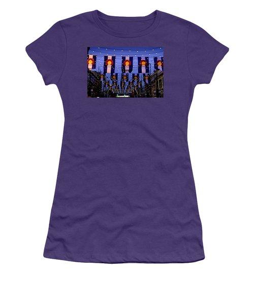 Historic Larimer Square Denver Women's T-Shirt (Athletic Fit)