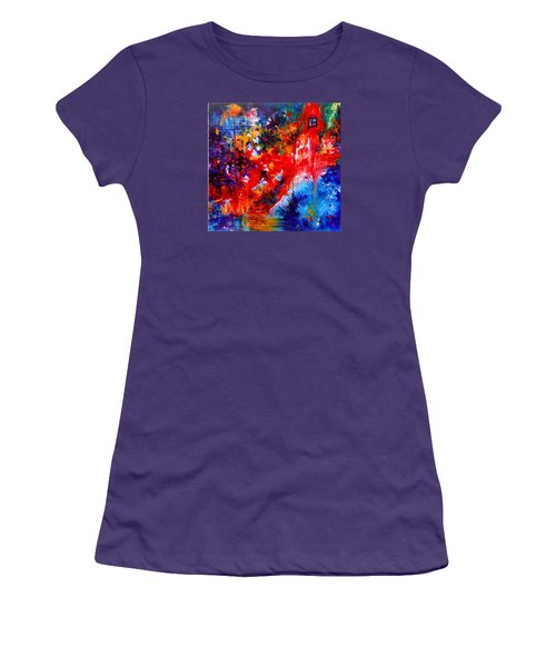 Home Sweet Home. Root Chakra. Series Healing Chakras. Women's T-Shirt (Junior Cut) by Helen Kagan