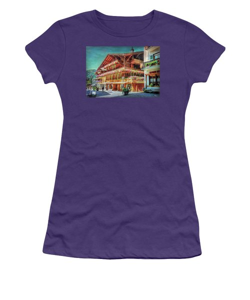 Women's T-Shirt (Athletic Fit) featuring the photograph Hot Spot by Hanny Heim