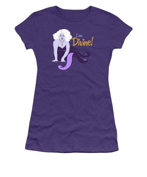 I Am Divine Women's T-Shirt (Athletic Fit)