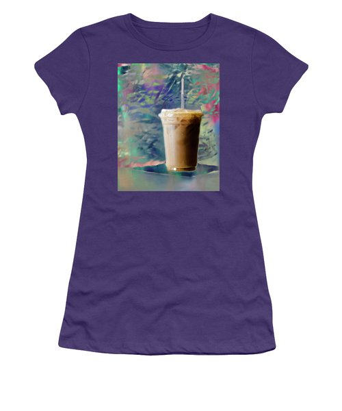 Iced Coffee 3 Women's T-Shirt (Athletic Fit)