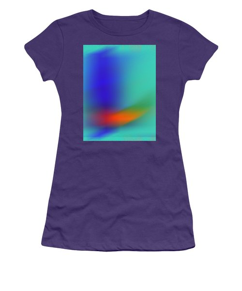 Women's T-Shirt (Junior Cut) featuring the digital art In Flight by Prakash Ghai