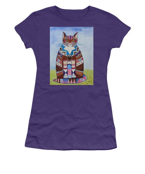 Indian Squirrel Cat Women's T-Shirt (Athletic Fit)