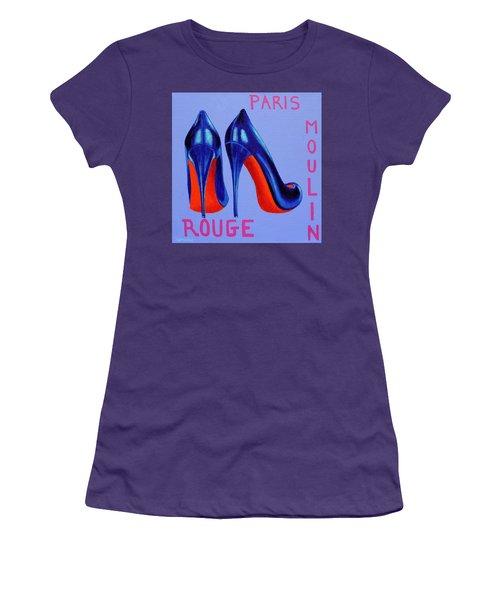 Irish Burlesque Shoes Women's T-Shirt (Athletic Fit)