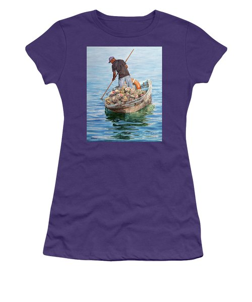 Jewels Of The Sea Women's T-Shirt (Athletic Fit)