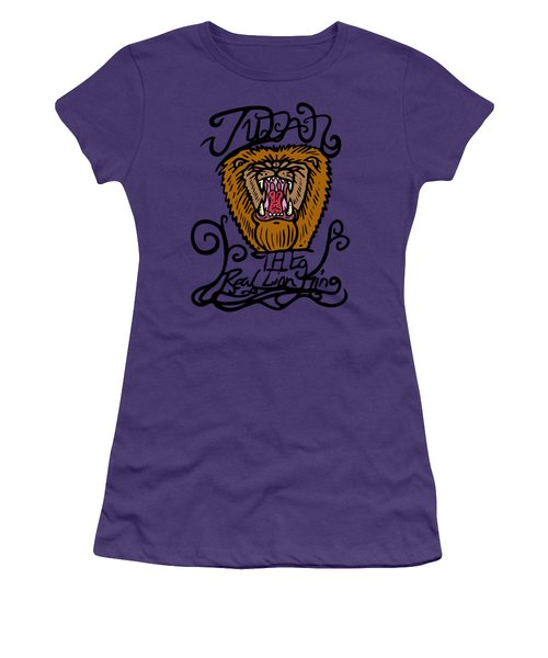 Judah The Real Lion King Women's T-Shirt (Athletic Fit)