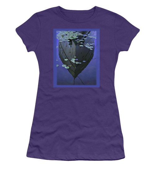 Lily Pads And Reflection Women's T-Shirt (Athletic Fit)