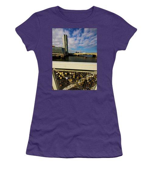 Love Locks Women's T-Shirt (Athletic Fit)