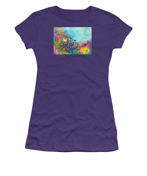 Many Colours Women's T-Shirt (Athletic Fit)