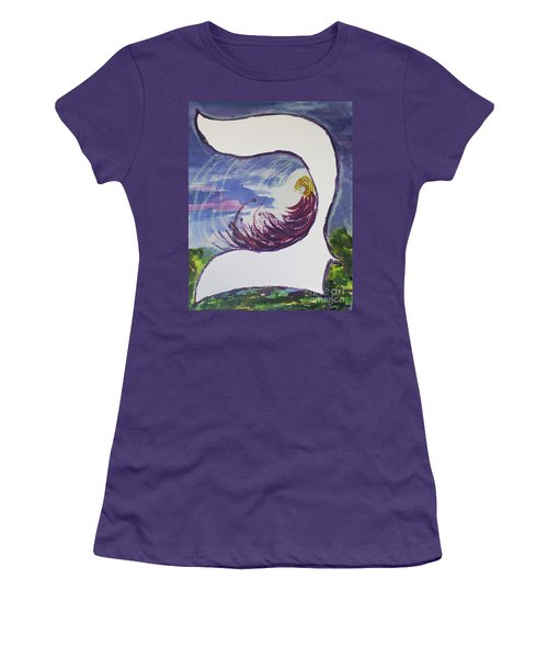 Meditating In The Beit Women's T-Shirt (Athletic Fit)