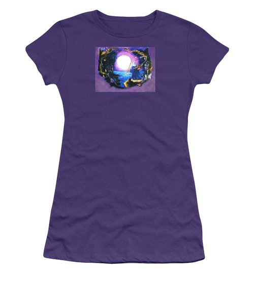 Merlin's Moon Women's T-Shirt (Athletic Fit)