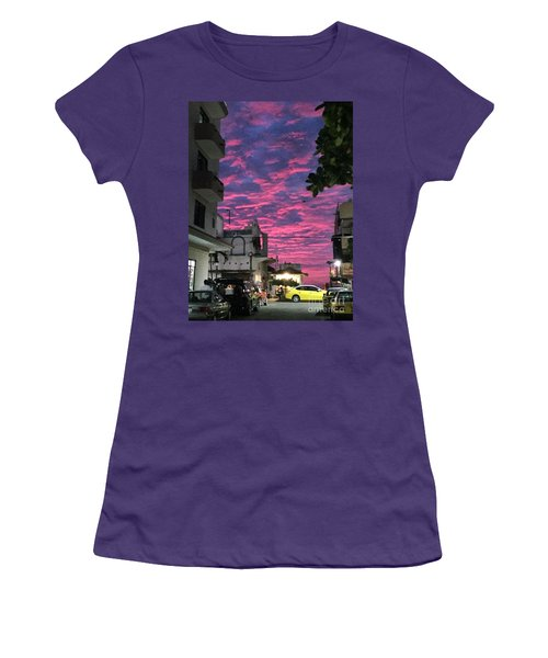 Women's T-Shirt (Junior Cut) featuring the photograph Mexico Memories 1 by Victor K