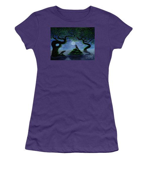 Midnight Green Women's T-Shirt (Athletic Fit)