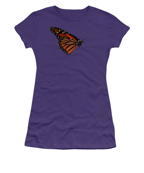 Monarch Butterfly No.41 Women's T-Shirt (Junior Cut) by Mark Myhaver
