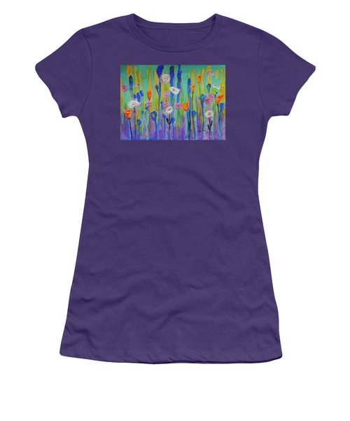 Morning Wildflowers Women's T-Shirt (Athletic Fit)