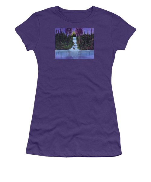 My Deerest Kingdom Women's T-Shirt (Athletic Fit)