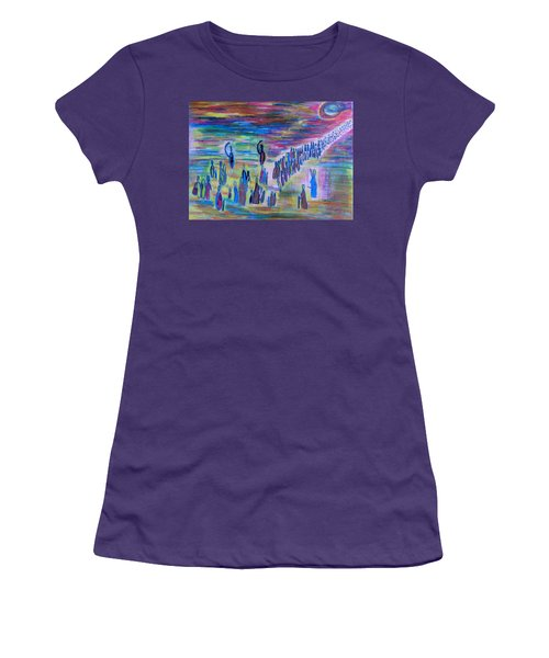 My People Women's T-Shirt (Junior Cut) by Vadim Levin
