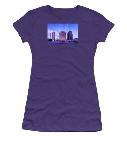 Nationwide Plaza Evening Women's T-Shirt (Athletic Fit)