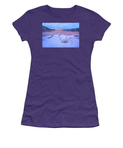 Women's T-Shirt (Junior Cut) featuring the photograph Nature's Sculpture by John Poon