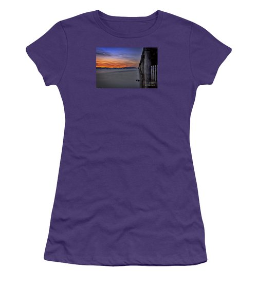 Women's T-Shirt (Junior Cut) featuring the photograph Next To Nothing by Mitch Shindelbower