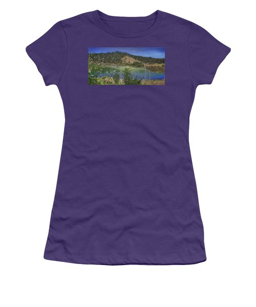 Noyo Serenity Women's T-Shirt (Athletic Fit)