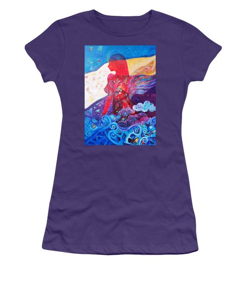 Nude Inner Dream Women's T-Shirt (Athletic Fit)
