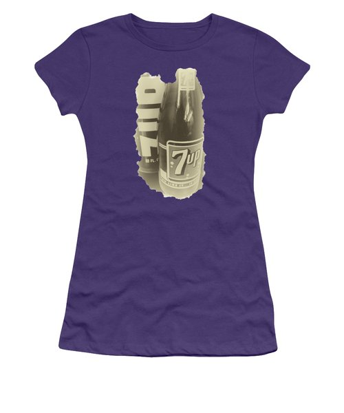 Old School 7up Women's T-Shirt (Athletic Fit)