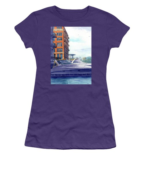 On The Docks Women's T-Shirt (Athletic Fit)