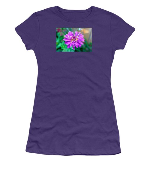 One Flower Circus Women's T-Shirt (Athletic Fit)