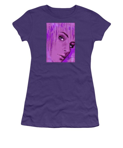 One Last Look Back Women's T-Shirt (Junior Cut) by P J Lewis
