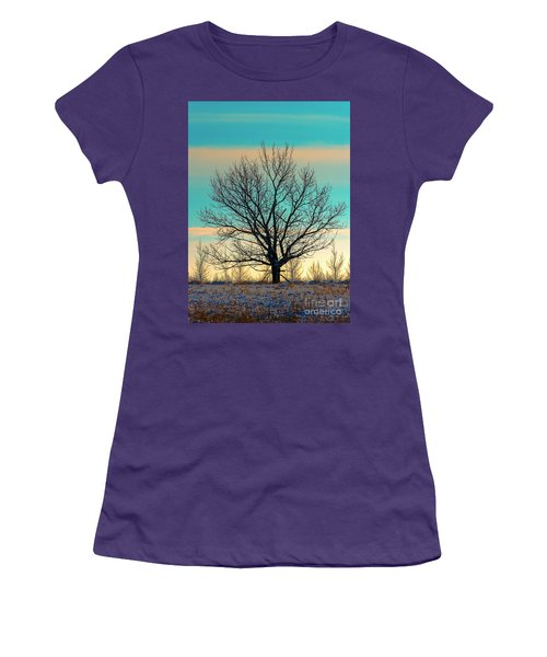 Women's T-Shirt (Junior Cut) featuring the photograph One by Nina Stavlund