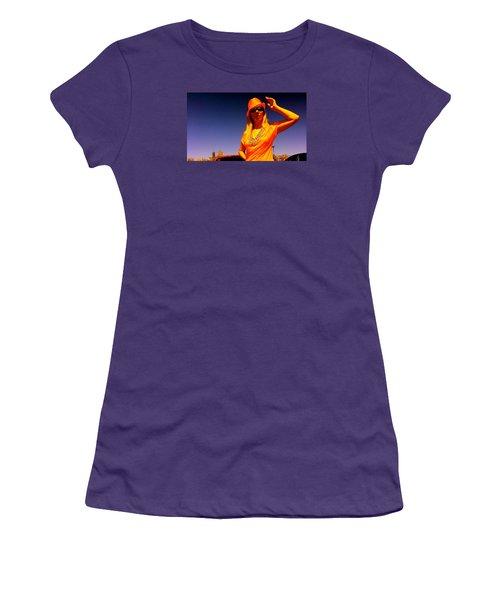 Orange Friday Women's T-Shirt (Junior Cut) by Yelena Tylkina