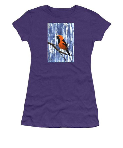 Orange-headed Oriole Women's T-Shirt (Athletic Fit)