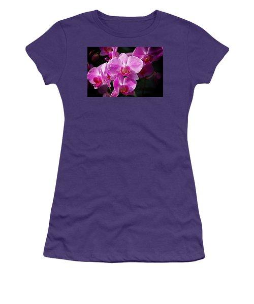 Orchids 4 Women's T-Shirt (Junior Cut) by Karen McKenzie McAdoo
