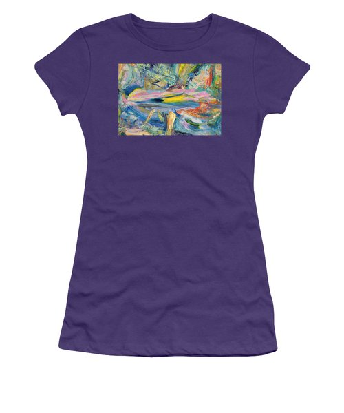 Paint Number 31 Women's T-Shirt (Athletic Fit)