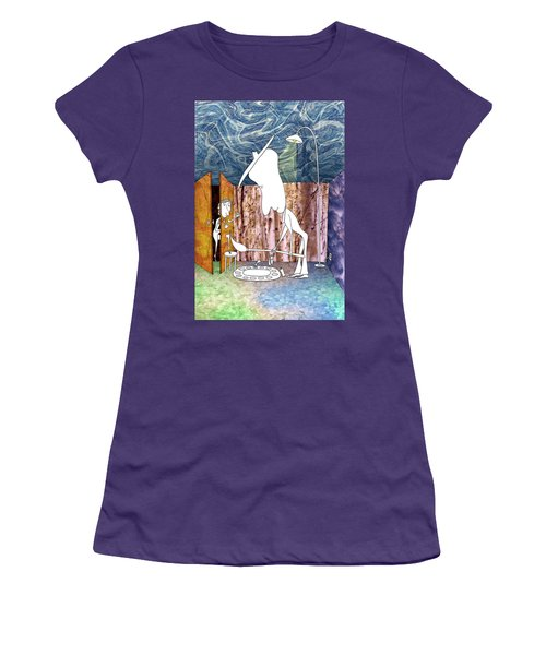 Painter Women's T-Shirt (Athletic Fit)