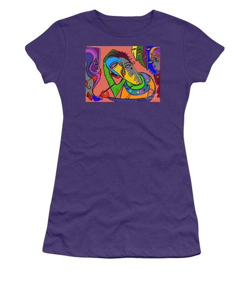 Painters Block Women's T-Shirt (Athletic Fit)